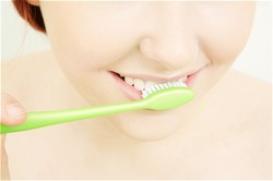 Brushing your teeth is a part of good oral hygiene